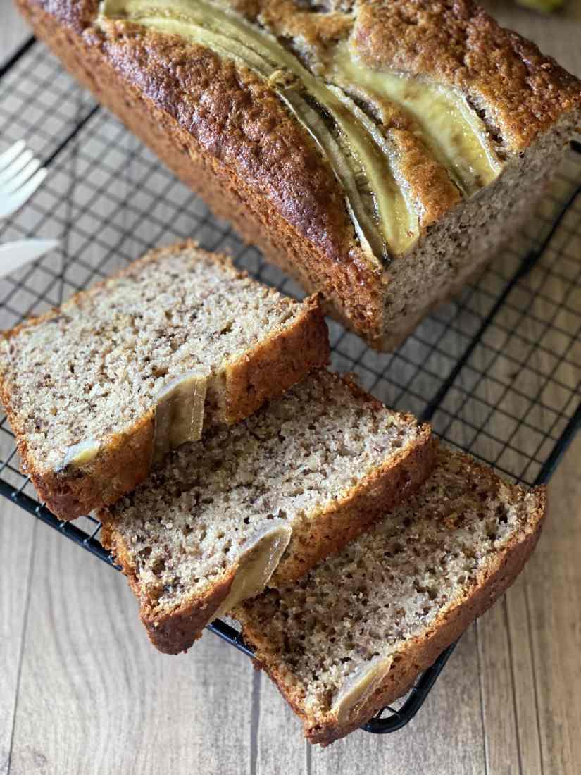 banana bread ricetta senza lattosio